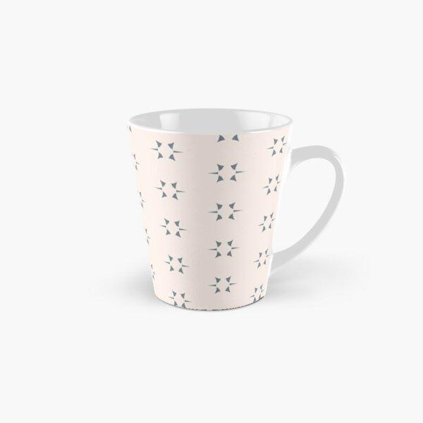 Cottagecore Neutral Grey Star Tall Mug