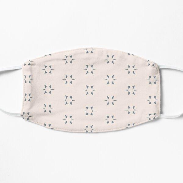Cottagecore Neutral Grey Star Flat Mask