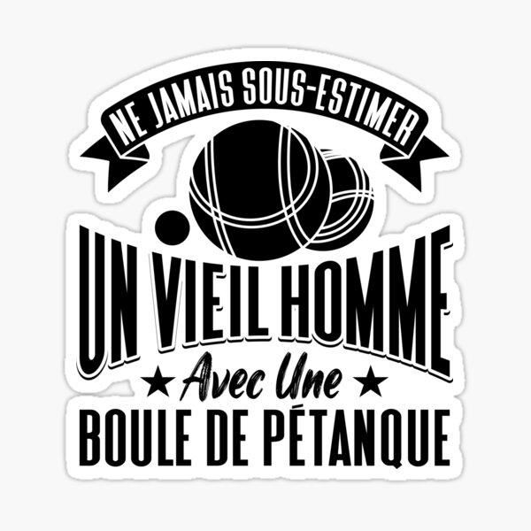 Petanque Humour Grand-Père Sticker