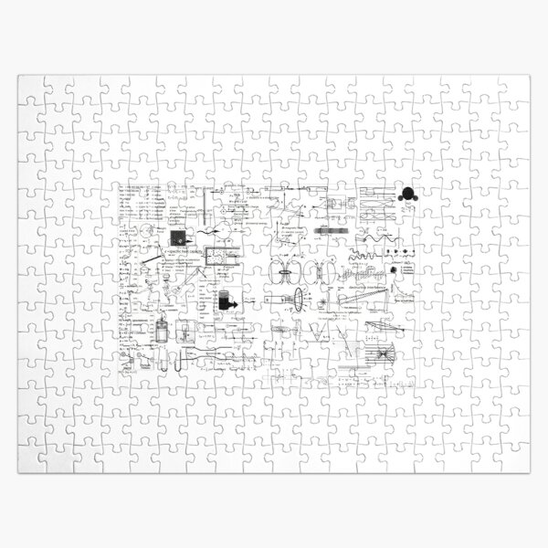 Physics: Formula Chart for General Physics course PHY 110, #Physics, #Formula, #Chart, #GeneralPhysics, #course, #PHY110 Jigsaw Puzzle