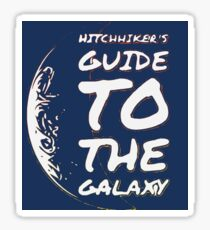 Hitchhiker's Guide to the Galaxy Sticker