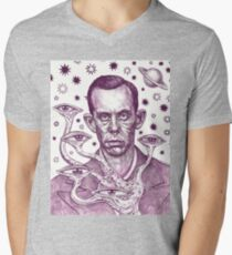 Dorf The Intergalactic Inquisitor from Planet X Mens V-Neck T-Shirt