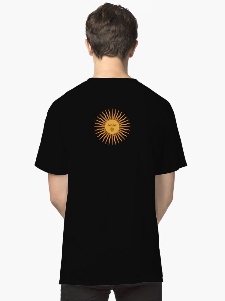 38429384db0 Camisetas clásicas «Funda nórdica de sol de Argentina - Adhesivo ...