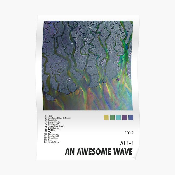 Alt-J - An Awesome Wave Poster Poster