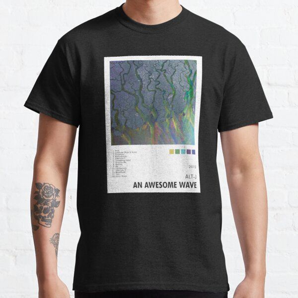 Alt-J - Une vague impressionnante Poster T-shirt classique