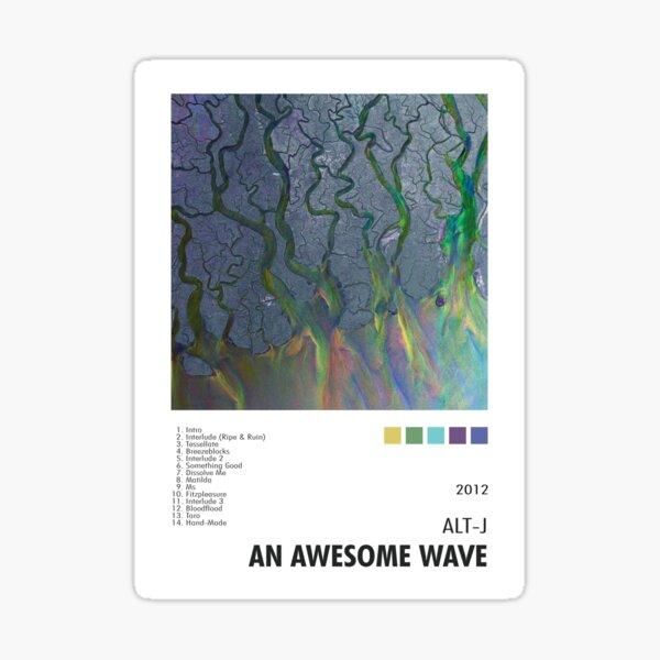 Alt-J - An Awesome Wave Poster Sticker