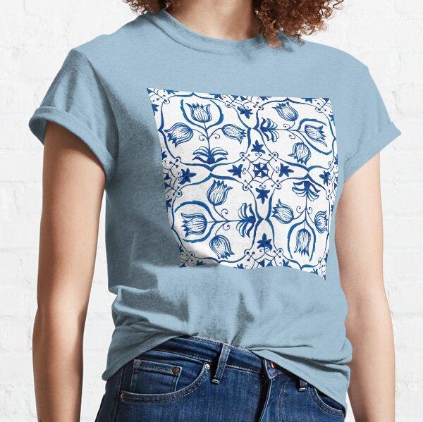 Delft Blue Tulips Classic T-Shirt