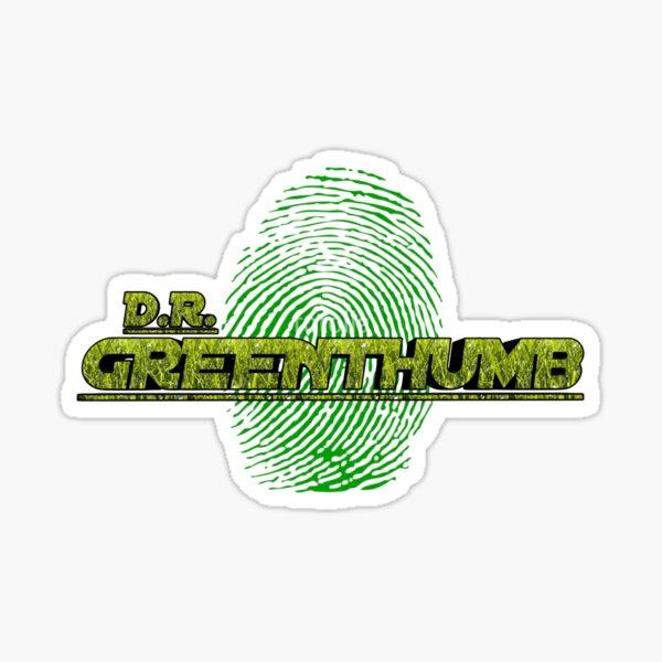 D.R. GREENTHUMB Sticker