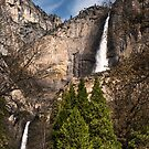 Upper and Lower Yosemite Falls by Doug Graybeal