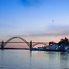 Yaquina Bay Bridge at Sunset by Doug Graybeal
