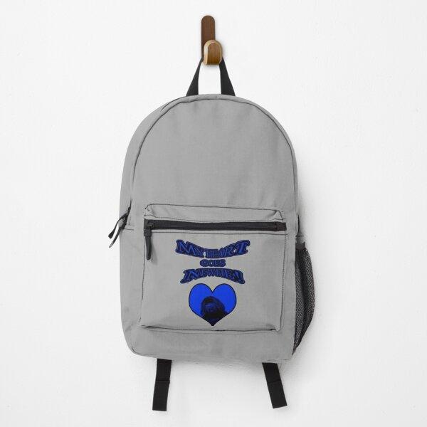 My Heart Goes Newfie Blue Heart Backpack