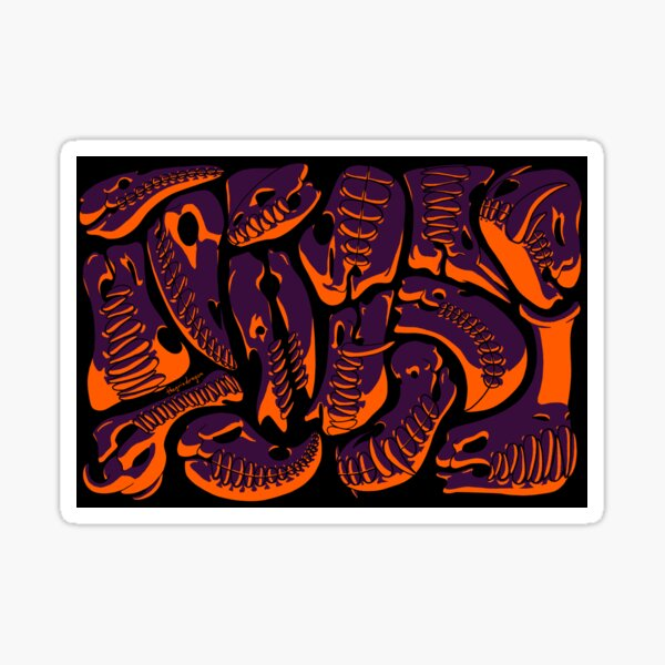 Spooky Skulls Sticker