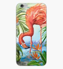 Vinilo o funda para iPhone Flamingo Beach Revisited
