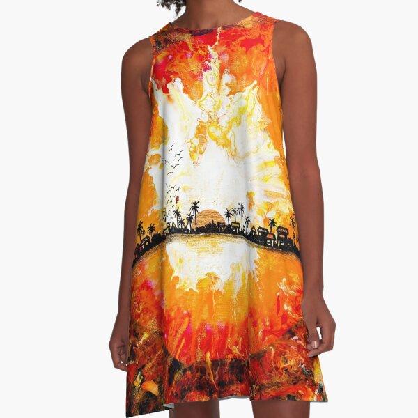 My Caribbean Aesthetic Series 05 A-Line Dress
