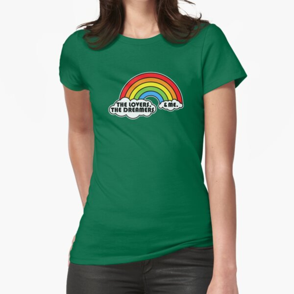Rainbow Connection Fitted T-Shirt