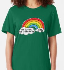 Rainbow Connection Slim Fit T-Shirt