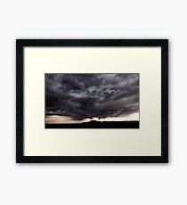 Storm over Goblin Valley State Park Framed Print
