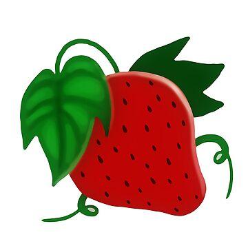 Rote Erdbeere von SaradaBoru