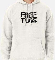 FREE TUGS (black) Pullover Hoodie
