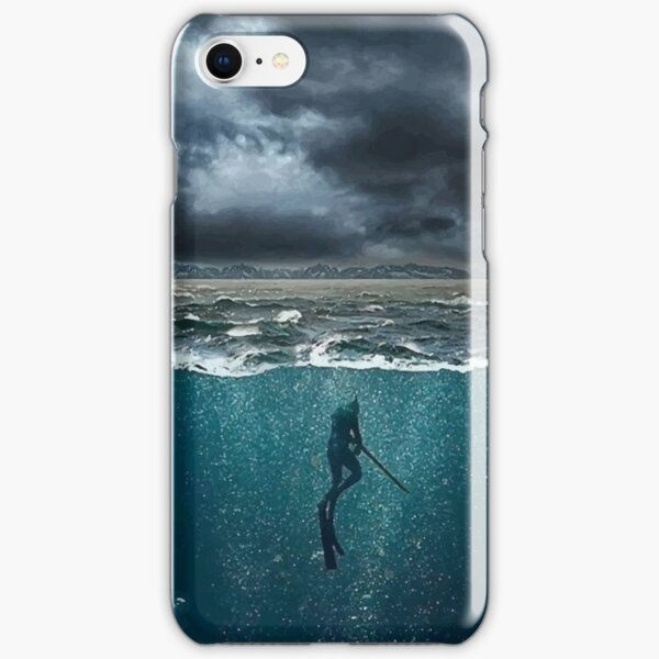Spearfishing iPhone Snap Case