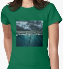 Spearfishing Womens Fitted T-Shirt