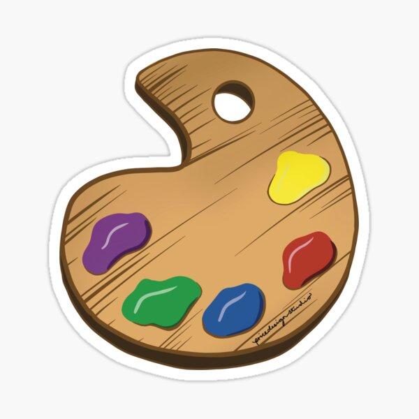 Colour Pallet Sticker