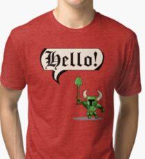 HELLO! Tri-blend T-Shirt