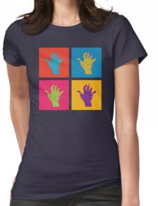 Mauled Hands Womens Fitted T-Shirt
