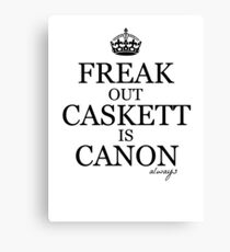 Caskett Canon Canvas Print