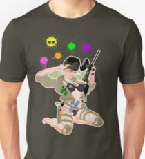 Paintball PinUp T-Shirt