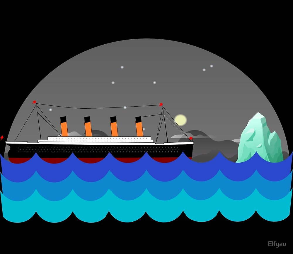 «Viaje del Titanic» de Elfyau