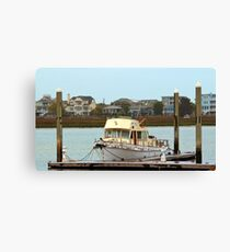 Rusty Old Boat Canvas Print