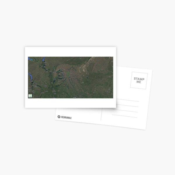 The Putorana Plateau (Плато Путорана, Plato Putorana), Putorana Mountains Postcard