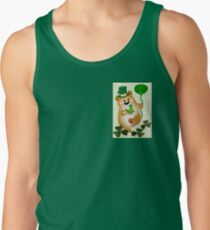 Teddy With St. Patrick's Greeting (1666 Views) Tank Top