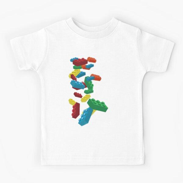 Master Builder T-Shirt Children/'s Boys Kids Tee Lego Inspired