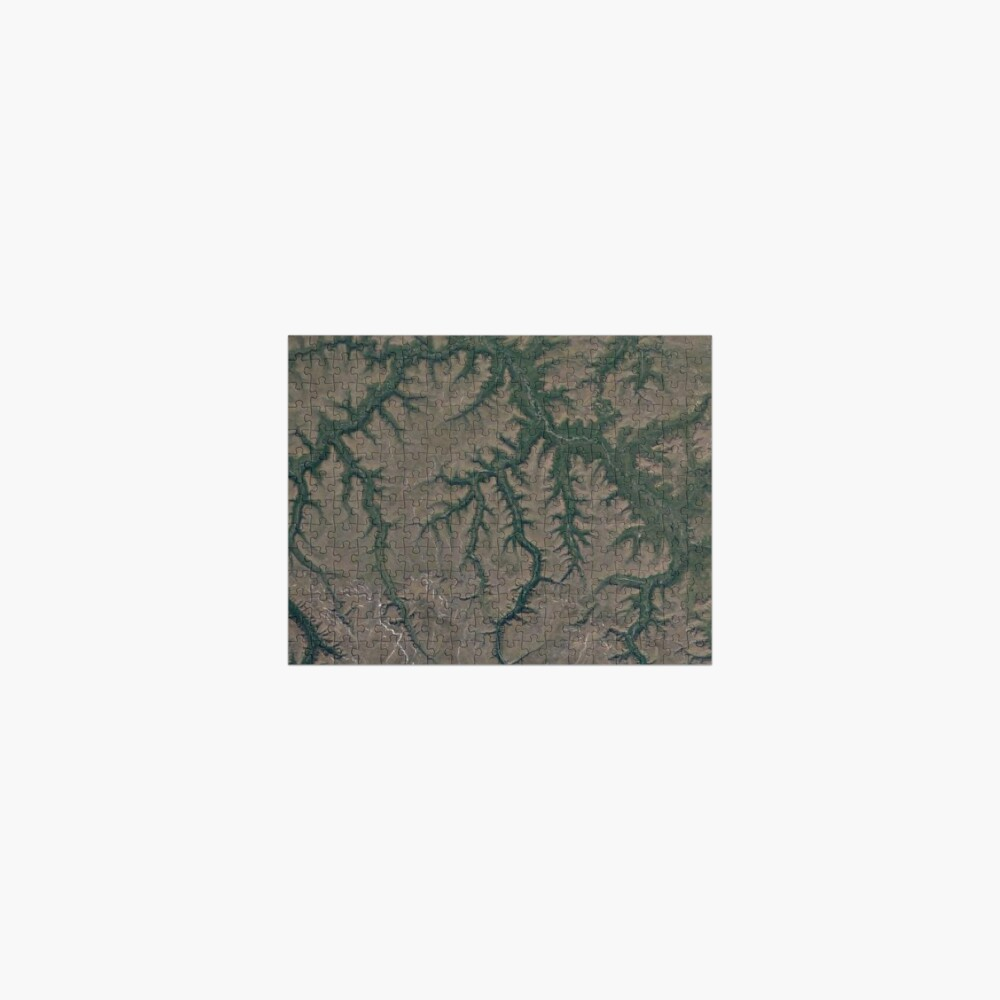The Putorana Plateau is a high-lying plateau crossed by mountain ranges at the northwestern edge of the Central Siberian Plateau Jigsaw Puzzle