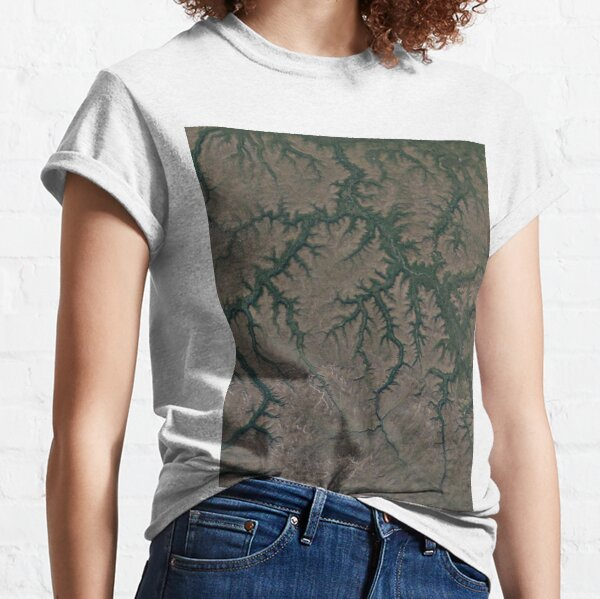 The Putorana Plateau is a high-lying plateau crossed by mountain ranges at the northwestern edge of the Central Siberian Plateau Classic T-Shirt