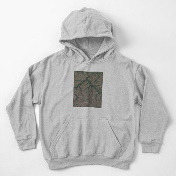 The Putorana Plateau is a high-lying plateau crossed by mountain ranges at the northwestern edge of the Central Siberian Plateau Kids Pullover Hoodie
