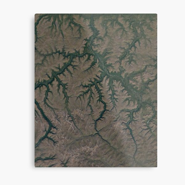 The Putorana Plateau is a high-lying plateau crossed by mountain ranges at the northwestern edge of the Central Siberian Plateau Metal Print