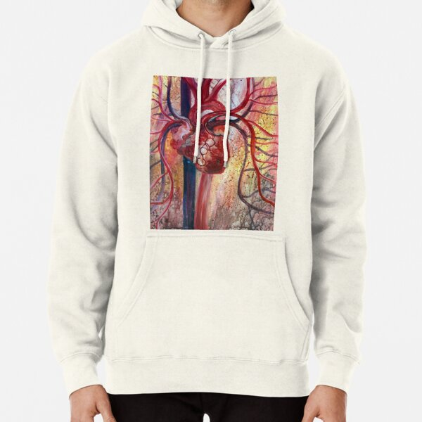 Honor God's Name - Write it on Your Heart Pullover Hoodie