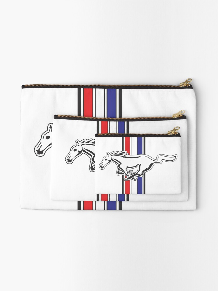 Alternate view of Ford Mustang Zipper Pouch