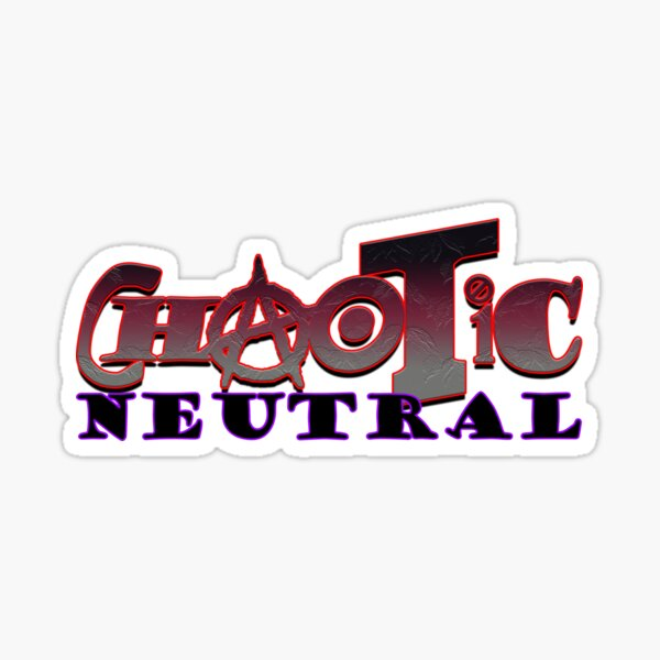 Chaotic Neutral Sticker