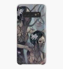 collecting silk from crystal spiders Case/Skin for Samsung Galaxy