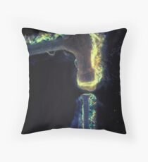 Hit the nail on the head - idiom Throw Pillow