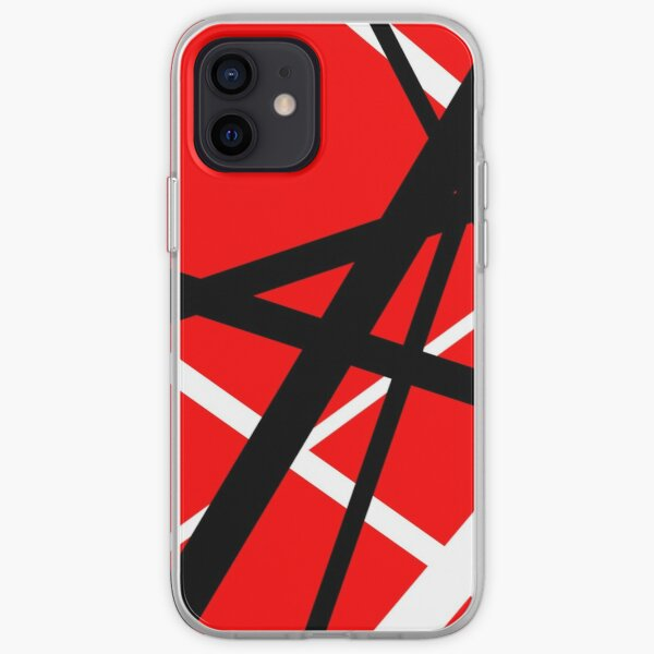 Red and black iPhone Soft Case