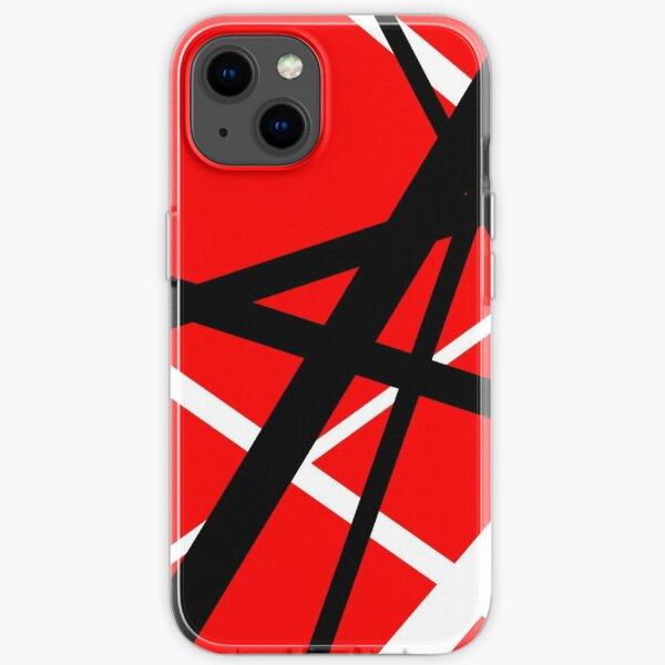 rot und Schwarz iPhone Flexible Hülle