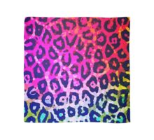 Florescent Cheetah Abstract Pattern  Scarf