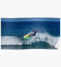 Surfer Ripping  Poster