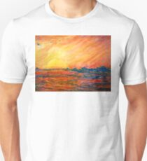 Sunset Departure by Heather Holland T-Shirt