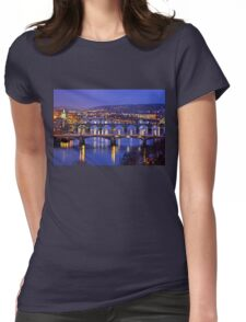 Nights in Prague Womens Fitted T-Shirt